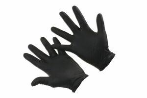 Connect-37305-Grippaz-Medium-Black-Nitrile-Gloves-Box-50-Pieces-25-Pairs