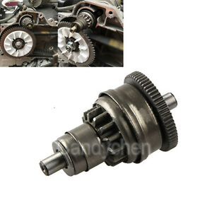 New Motor Starter Clutch Gear Bendix For Gy6 49cc 50cc 139qmb Scooter Moped Atv Ebay