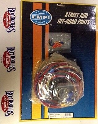 EMPI 9466 UNIVERSAL WIRING HARNESS W/ FUSE BOX VW BUG BUGGY BAJA KIT CAR  RAIL   eBayeBay