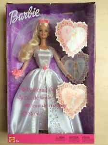"Rare poupée Barbie   Seltene Barbie Puppe ""wedding Day"""
