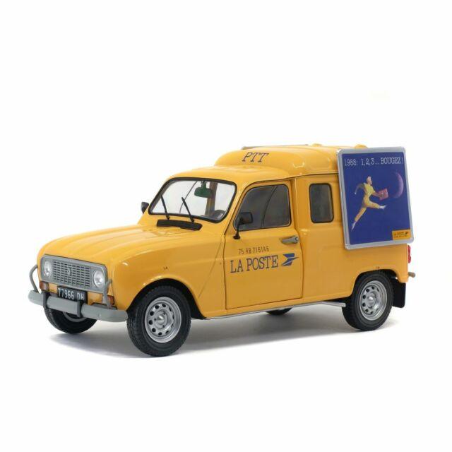 Solido Soli1802203 Renault 4LF4 La Poste 1/18
