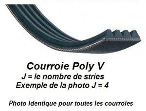 Courroie POLY V 465J4 pour dégauchisseuse Kity DRA260