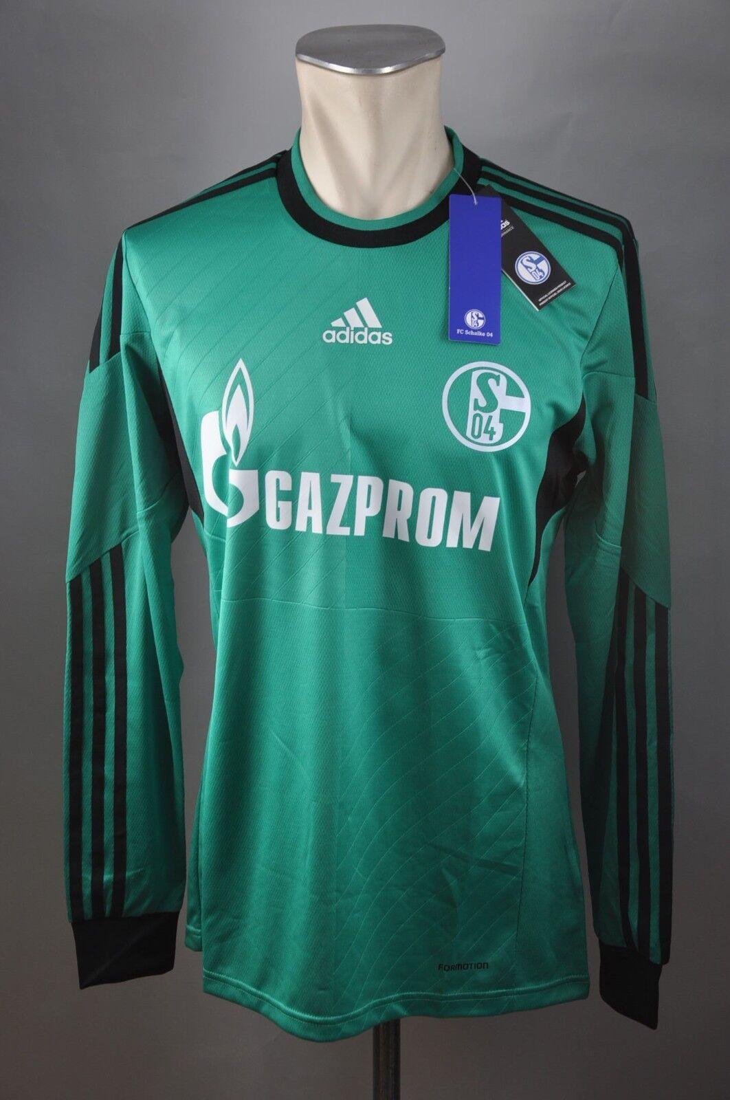 FC Schalke 04 Trikot  7 Meyer Gr. M   L   XL adidas formotion S04 2013-2015 grün    Kostengünstig