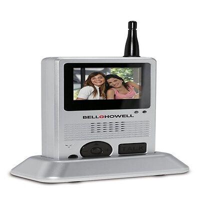 Bell + Howell Wireless Video Doorbell Intercom System - Brand New!