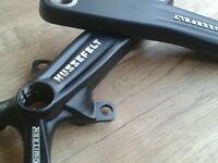 Truvativ HUSSEFELT Crank Arms (170mm) Mountain Bike (Fits Howitzer BB) NEW