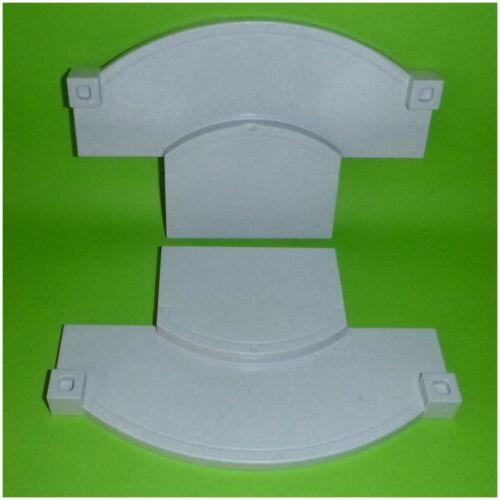 2 x Bodenplatte Eingang Gehweg für Haus Wahl Playmobil 2 System X 3965