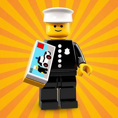 LEGO SEALED Classic Police Man Toy 600 Box Series 18 Minifigure 71021