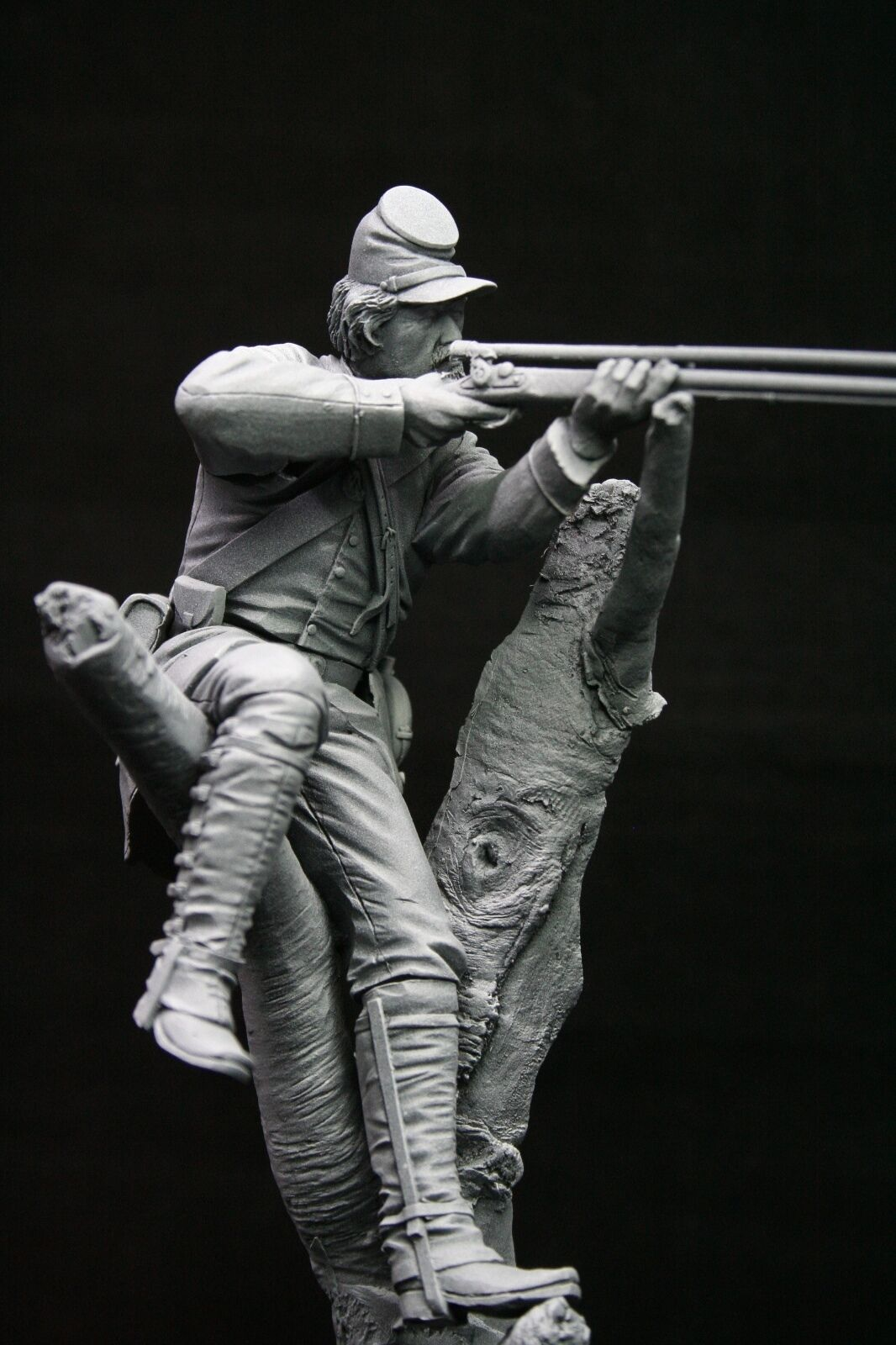 120mm 1 16 Union Berdan Marksman, American Civil War, sculpted by Maurice Corry