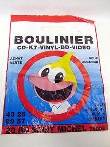 Details about Plastic Bag from BOULINIER 20 BD Saint Michel - PARIS Music  CD K7 Vinyl BD Video