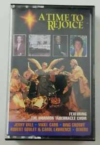 A-Time-to-Rejoice-Cassette-Featuring-the-Mormon-Tabernacle-Choir-1992-Sony-Music