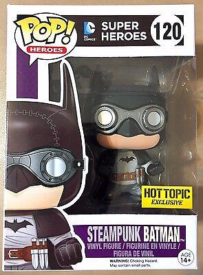 FREE POP PROTECTOR FUNKO POP DC COMICS STEAMPUNK BATMAN EXCLUSIVE