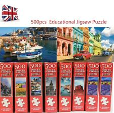 UK 500 Pieces Educational Jigsaw Puzzle Animal Landscape Adult Puzzles Kids Toy