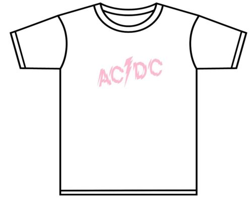 AC//DC T-SHIRT TODDLER AC//DC POWERAGE ROCK BAND TSHIRT ASST COLOURS 0-4 YRS NEW