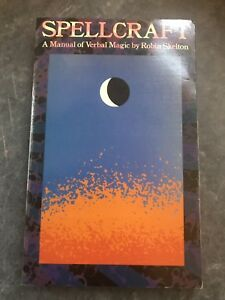 Spellcraft-By-Robin-Skelton-1978-First-Edition-Occult-Witchcraft