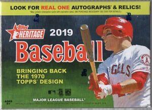2019-Topps-Heritage-Baseball-MLB-Cards-Blaster-Box-72-Trading-Cards
