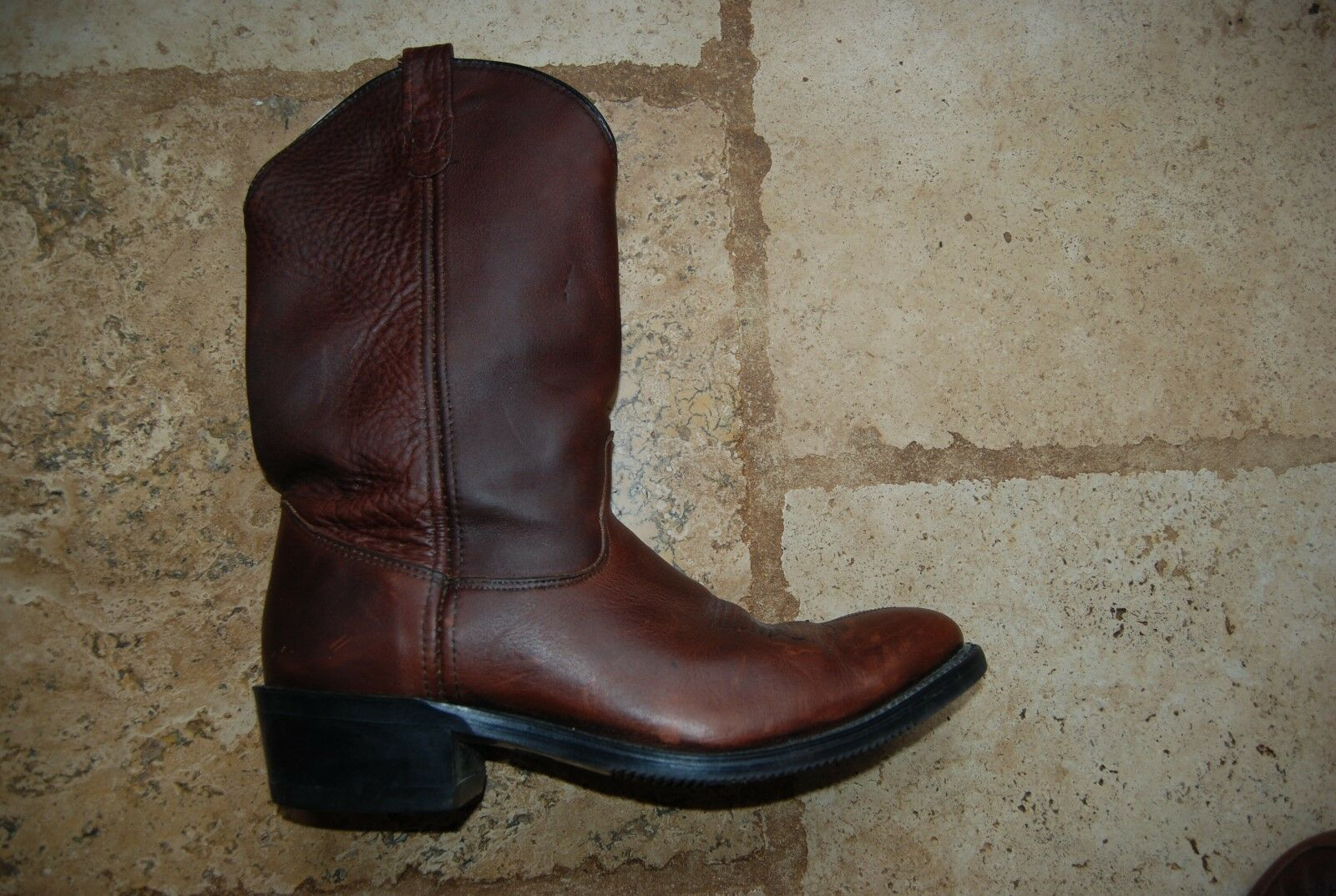 Dark Braun Leder DOUBLE 3203 H Western Classic 3203 DOUBLE Stiefel b29e71