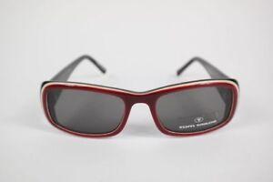 18 Rot Braun Oval Sonnenbrille Neu Sonnenbrillen & -zubehör Gutherzig Tom Tailor 63009 Col 202 45
