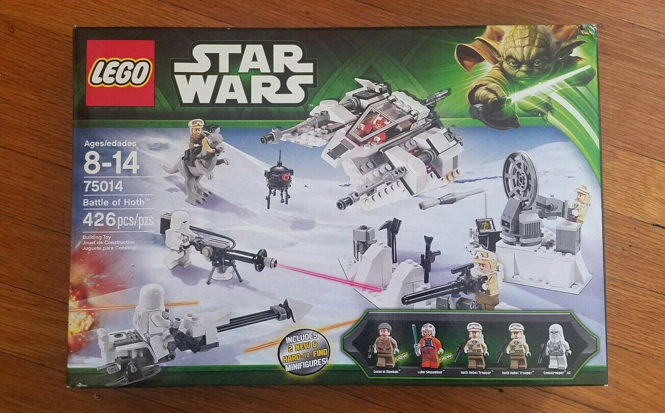 LEGO Star War 75014 Bataille de Hoth-Neuf