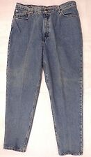 Vintage LEVIS High Waist Jean Tapered Leg Relaxed Fit Size 18 Red Tab