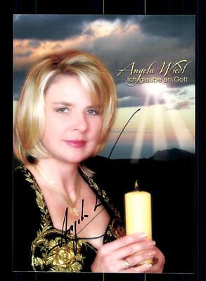 Original, Nicht Zertifiziert Angela Wiedl Autogrammkarte Original Signiert ## Bc 75482 Mangelware