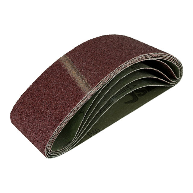 48 Gewebe-Schleifbänder 13 x 451 mm K40-240 Schleifpapier Schleifband