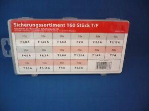 Werkstatt 80 x Flinke Sicherungen Sicherung-Sortiment f 80 x Tr/äge