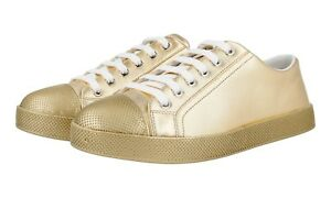 36 Platino Chaussures 5 Prada Nouveaux 36 Luxueux 3e6202 UqxwXB4xOf