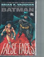Batman: False Faces By Brian K Vaughan & Scott Mcdaniel 2011 Hc Dc Comics