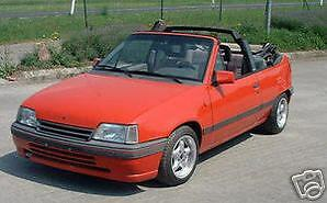 reparación set Opel Kadett convertible capota reparac