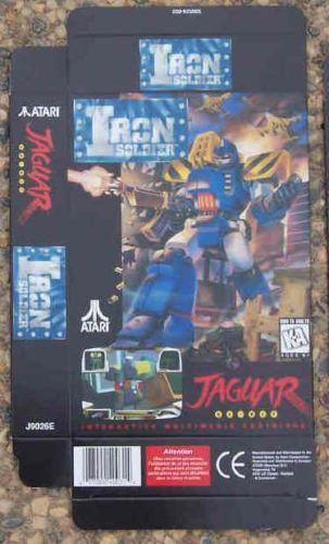 Display Box Atari Iron Solder Game Jaguar New