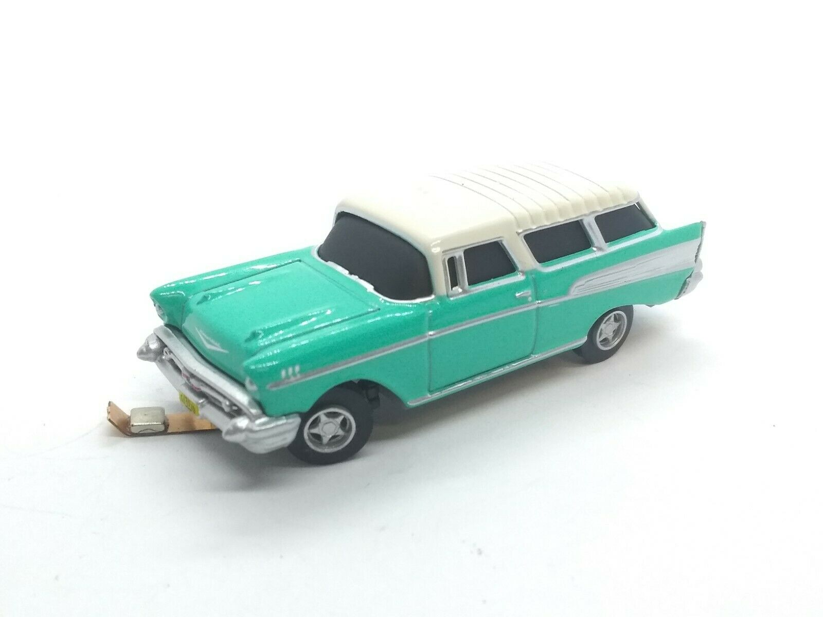 auto System 1957 Chevy Nomad HO 187 for Ftuttier stradas  Streets  Turquoise