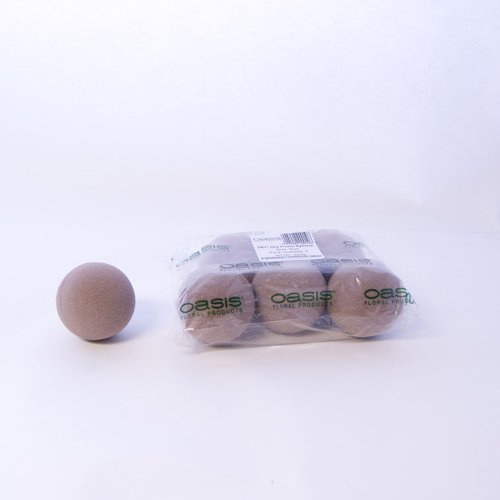 7cm Smithers Oasis Sphere//Ball for Fresh Silk Dry Artificial Flower Arranging
