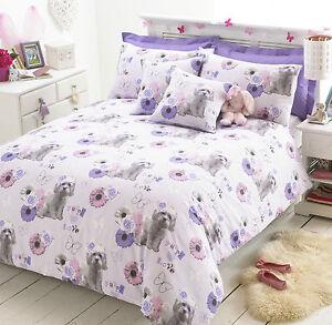 bichon welpe liebe bettbezug set polyester baumwolle pflegeleicht bettw sche ebay. Black Bedroom Furniture Sets. Home Design Ideas