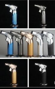 Big-New-Jobon-Quad-Straight-Flame-Butane-Spray-Torch-windproof-Lighter-Jet-gas