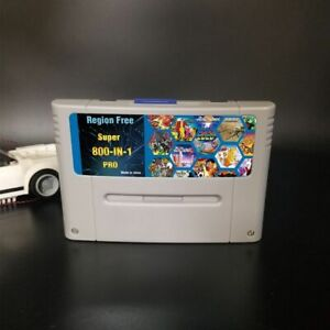 Pro Remix Video Game For SNES Cartridge Card USA/EUR 800 In 1 Super Consoles 8G