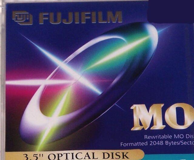 "Fuji 3,5"" MO Disk, 540 MB Formatted, Data Cartridge Datenkassette, neu, in OVP"