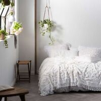 Linen House Somers Bed Cover, White