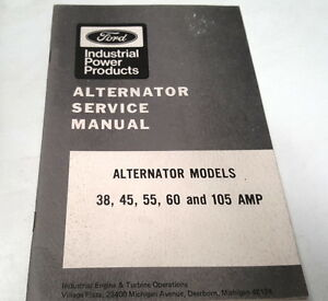 1971-FORD-ALTERNATOR-Factory-Service-Manual-USA
