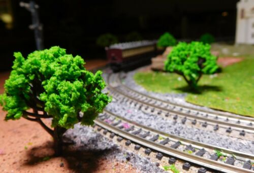 20 moyens verte arbres hauteur 40 mm