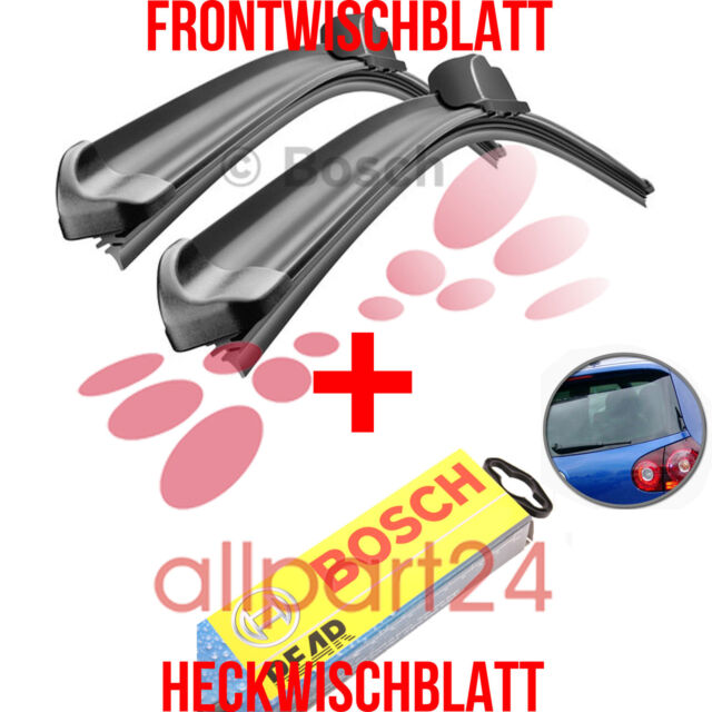 Bosch A116S +H353 Complete Set Front+Rear Windshield Wipers New & Vintage