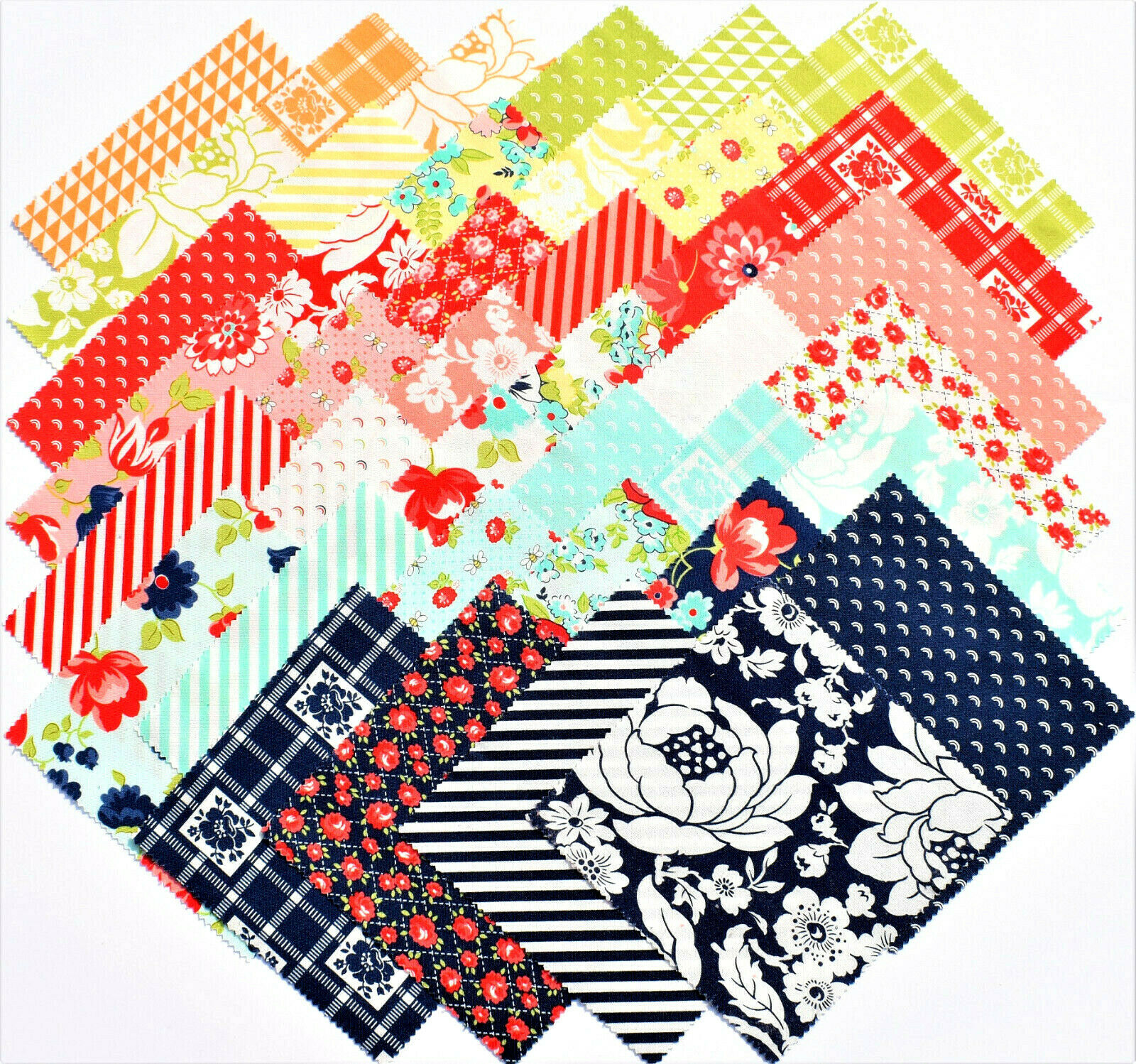 Moda Shine On  5 Charm Pack Square by Bonnie /& Camille 42 pc