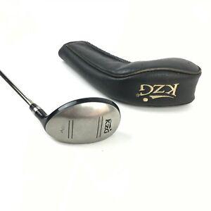 KZG U 18 Degree Utility Hybrid Iron Right Handed Steel Shaft Lamkin + Headcover