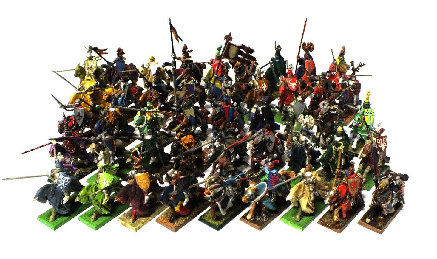 Warhammer Fantasia - Bretonnian Knights (Painted) - 28mm