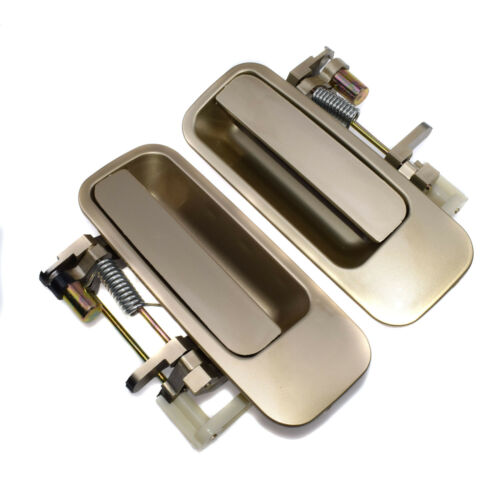 New BEIGE Rear Pair 2pcs Outside Door Handles Fit 97-01 Toyota Camry 69230-AA010