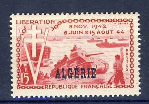STAMP-TIMBRE-ALGERIE-NEUF-N-312-LIBERATION