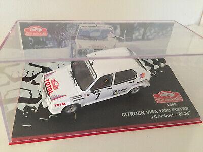 voiture 1//43 IXO Altaya CITROËN VISA 1000 pistes Monte Carlo 1985 Andruet #7