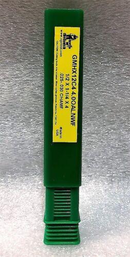 GORILLA MILL GMHX12C4 1//2x1-1//4x4 .025-.030 CHAMF CARBIDE ROUGHER//FINISHER