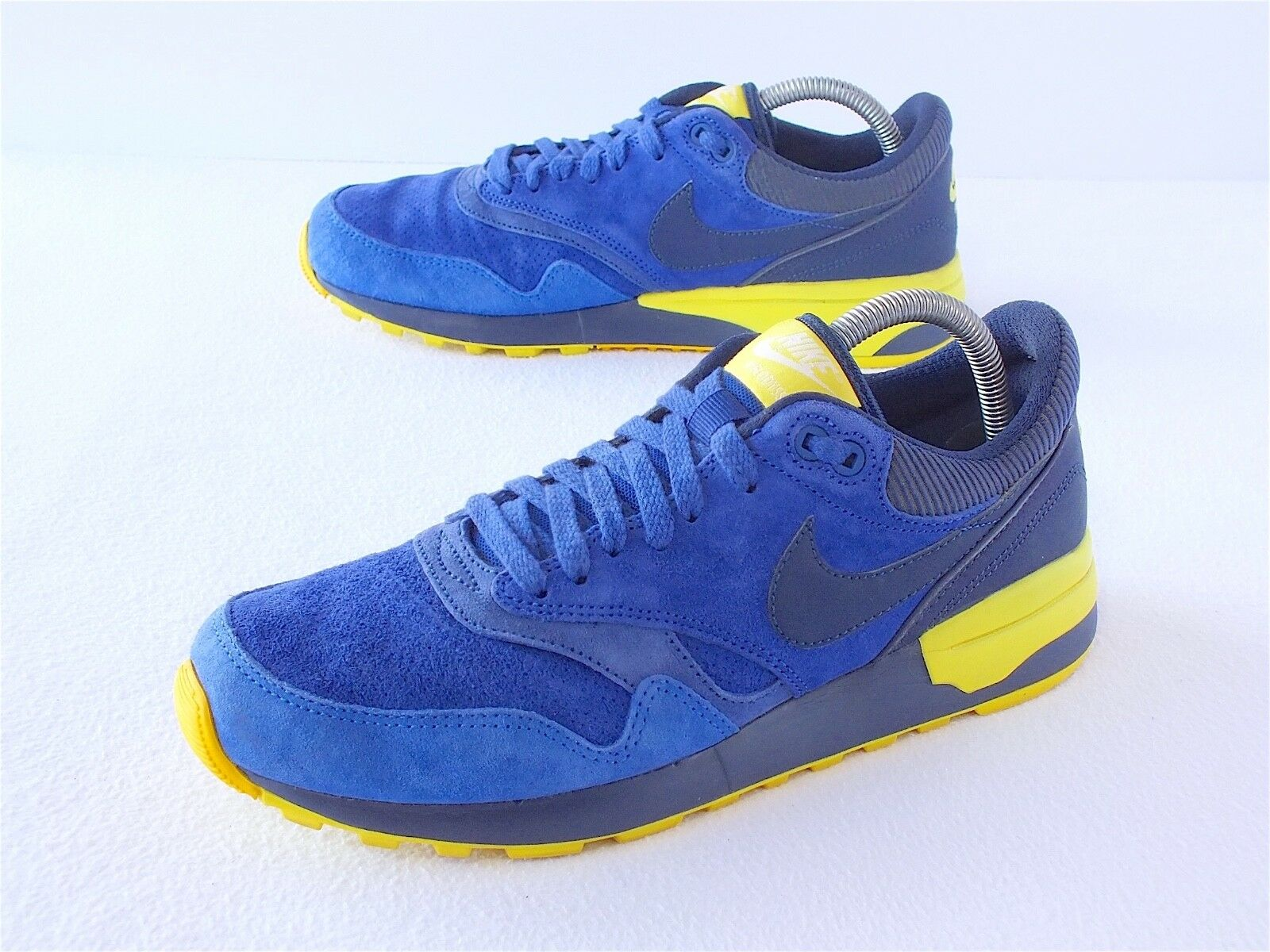 23f0eacacfaae ... Nike Nike Nike Air Odyssey Ltr Men s Running Shoes Midnight Navy Light  Voltage Size 8 ...