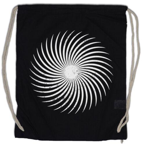 SPIRAL SUN Turnbeutel Labyrinth Mystic Hypnotic Esoterik Circle Hypno