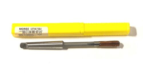 "Morse 5//16/"" Chucking Reamer Carbide Tipped Taper Shank 1MT USA Made 55420"